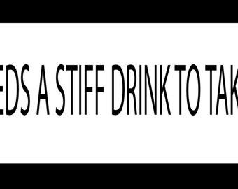 God Really Needs a Stiff Drink