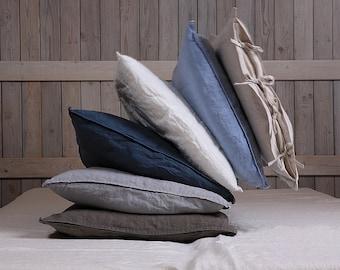 Linen pillow sham / Linen pillow case / Linen gift
