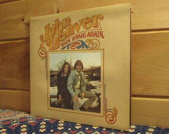 John Denver - Back Home Again - 33 1/3 Vinyl Record