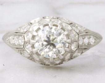 Scarlett- Old European Cut Diamond Engagement Ring