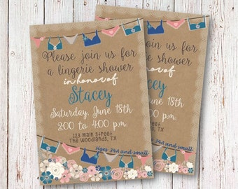 Lingerie Shower Invitations, Bridal Shower Invitations, Bride To Be, Lingere Shower, Elegant Invitations, Classy Lingerie Shower Invite
