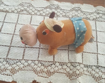 1960's Vintage Dream Pet Hippo