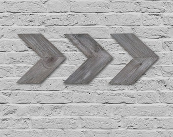 Rustic Arrows Wall Decor - Set of 3