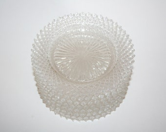 Cut Glass Appetizer Plates