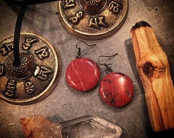 Red Jasper Earrings