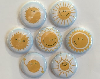 Sunshine Magnets - set of 7