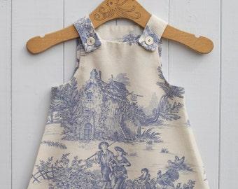 Beautiful Handmade Girls Pinafore Dress 18 - 24 Months