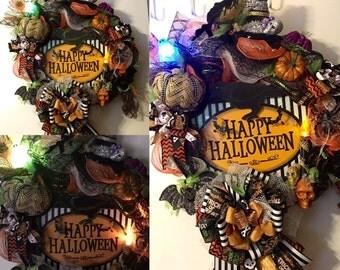 Halloween  Deco wreath