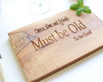 Personalized Engraved Cheese Board - available in three sizes