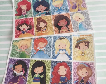 Fairy Tale Girl Glitter Full Boxes