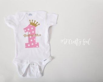 customized baby onesie