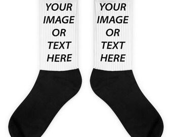Customized Sublimated Socks