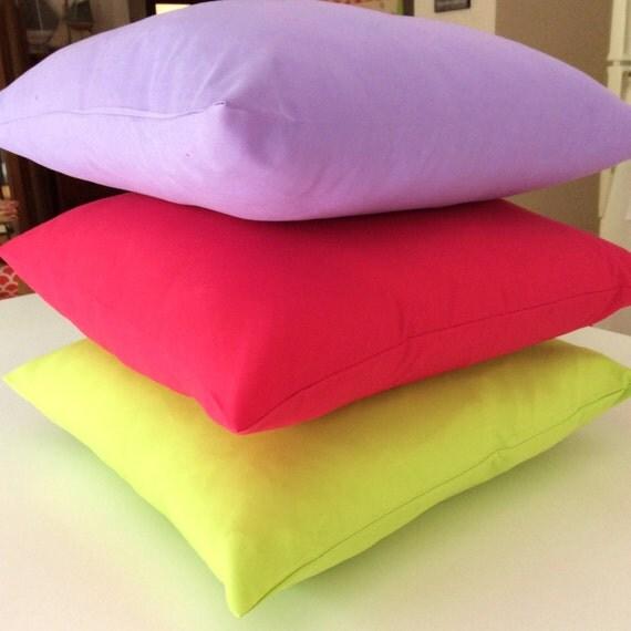 Bright Fuchsia Pink Soft Microfibre Cushion cover 40cm x 40cm