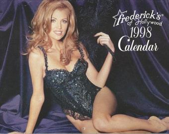 Frederick's of Hollywood 1998 Calendar