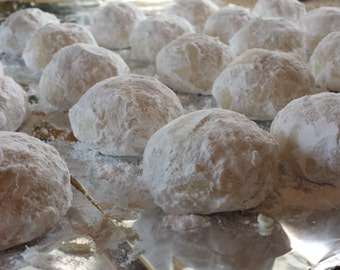 Butter Balls (with or without walnuts)