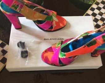Balenciaga Sling Back Sandal