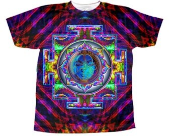 Tip Records t-shirt raja ram 1200 mics rikki rokkit classic Tip World psychedelic trippy all over print t-shirt