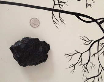 Real Coal for Christmas Stockings, Gift, One Medium size Coal Piece.