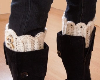 Crochet PATTERN - Boot Cuffs, Quick and Easy - Instant Download