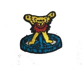 Vintage Grateful Dead Dancing Bear Patch