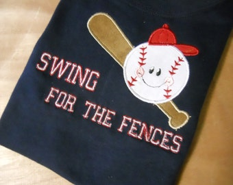 Swing for the Fences, Baseball shirt