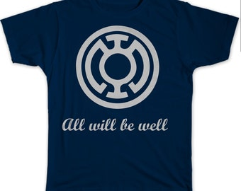 Green Lantern: Blue lantern- All will be well shirt