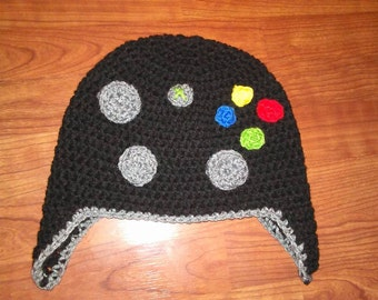 Crocheted Game Controller hat