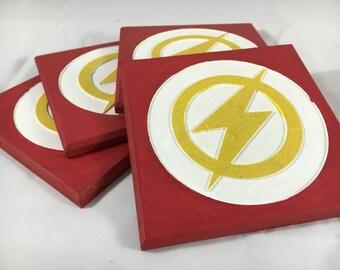 Flash Coasters - Set of 4