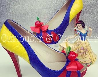 Snow White inspired heels