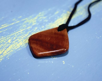 Mystery Wood Necklace