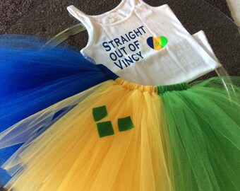 "Adult""Country of Choice""  tutu outfit"