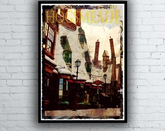 Harry Potter Movie / Poster / Print / Hogsmeade Poster