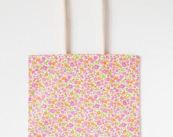 Cloth bag - spring - handmade with love