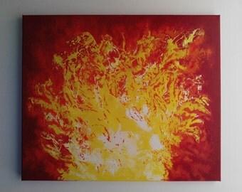 "Acrylic on canvas "" Antarès"" - only one pièce - 145 euros"