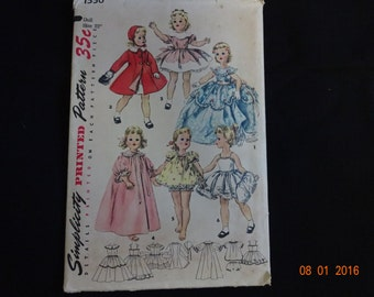 Simplicity 22 Inch Doll clothes pattern