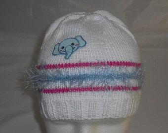 Hat KU 44-52 cm - wool hat - beanie - baby knot Hat - hand - knit Beanie