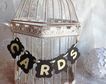 Bird Cage Card Holder, Bird Cage Card Holder, Bridal Shower Card Holder, Birdcage Wedding card Holder, Gift Card holder.