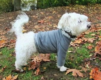 Fleece Dog Tops!