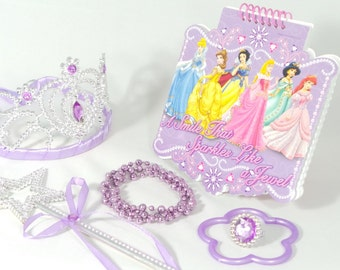Sparkle Like A Jewel Princess Party Favor Set