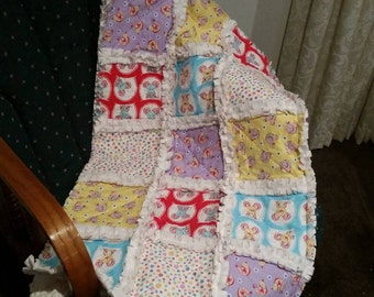 Handmade Raggy Quilts