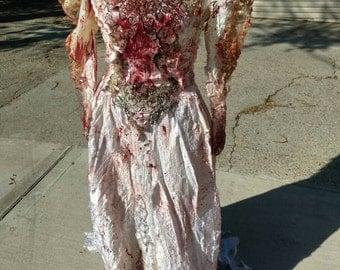 Bloody Bride Wedding Dress