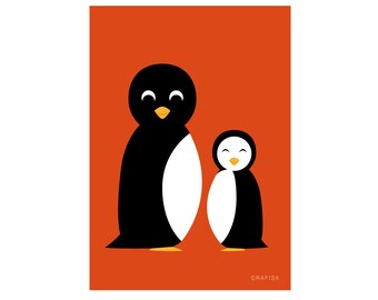 Poster Pinguins