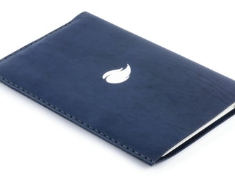 13 inch MacBook Air Leather Sleeve, Ocean Collection, Thick Natural Leather Case