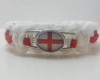 England Paracord Bracelet