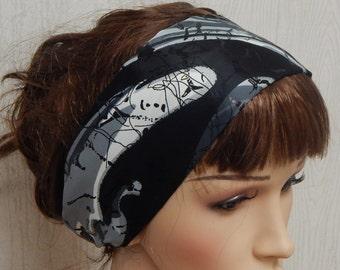 Yoga headband, satin headband, running headband, fitness headband, workout hairband, silky head bands