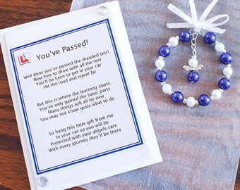 Driving Test Pass Gift Bags/driving test/passed your driving test/success/angel/gift bag