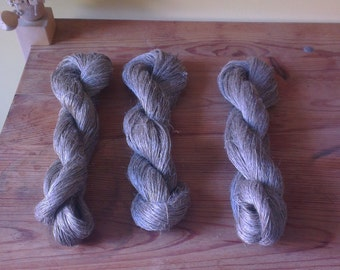 Flax yarn - single