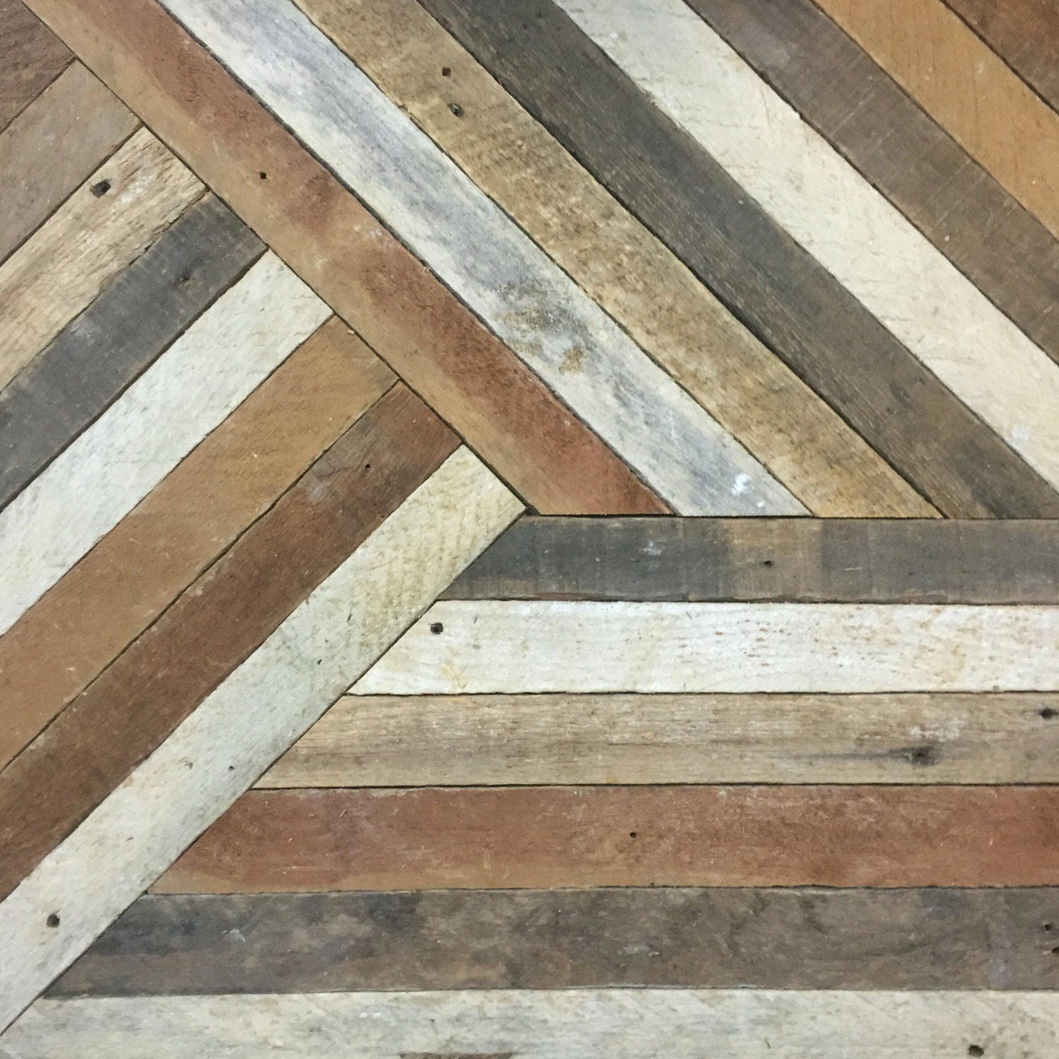 Reclaimed wood wall art decor lath pattern geometric Reclaimed wood wall art for sale