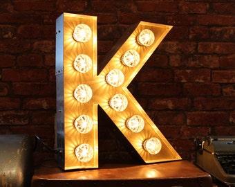 Letter Light K