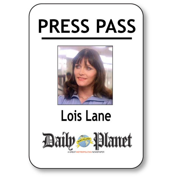 Delicate image inside lois lane press pass printable